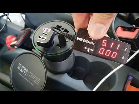 Laptop im Auto betreiben? AUKEY Spannungswandler Wechselrichter 200 W, 12 V Gleichstrom auf 230 V