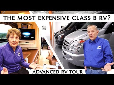 Are These The World's Most Expensive Class B RVs? Advanced RV Factory Tour
