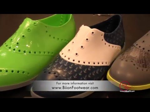 Biion Footwear at the PGA Show
