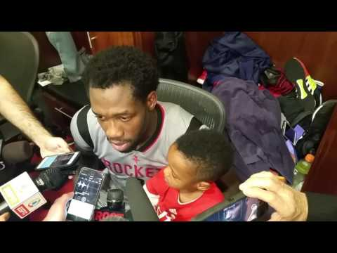 Patrick Beverley after Rockets beat Cavaliers
