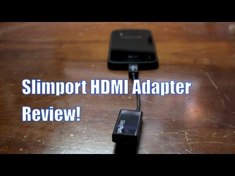 Slimport HDMI Adapter Review!