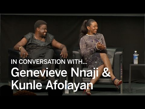 GENEVIEVE NNAJI + KUNLE AFOLAYAN In Conversation With...   TIFF 2016