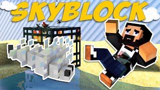Minecraft Skyblock - EP02 - Best Mob Spawner?! (ChaosCraft)