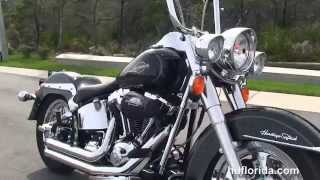 3. Used 2007 Harley Davidson Heritage Softail Classic Motorcycles for sale  - Gainesville, FL