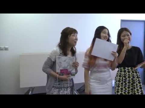 Remise des prix - Entrepreneurship contest - Keimyung University/CCI formation Eklya