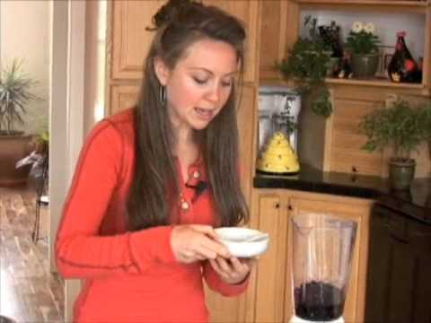 0 Indigo Granita Dessert Super Food by GreenChef Julie Morris