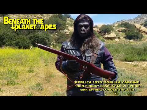 REPLICA 1970 BENEATH The PLANET Of The APES Gorilla Carbine (cosplay Prop) Economy Model