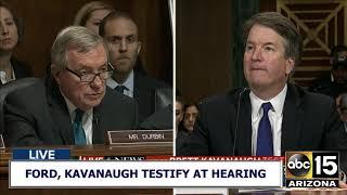 RAW: SECOND PART of Brett Kavanaugh's testimony