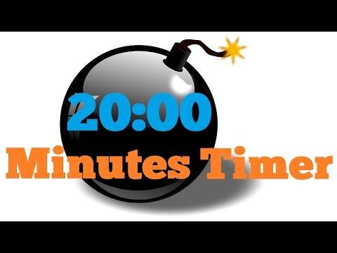 Video 20 minutes  Countdown Timer Alarm Clock download in MP3, 3GP, MP4, WEBM, AVI, FLV January 2017