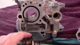 9. 113)-  PROJECT Honda  RUCKUS - HOW TO= Engine COMPLETE REBUILD