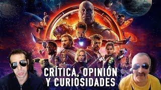Ver online Vengadores INFINITY WAR Crítica, opinión y curiosidades