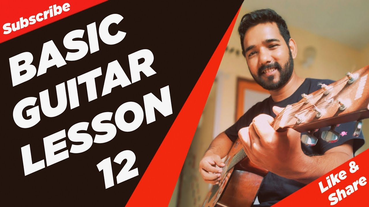 Basic Guitar Lesson 12 (Notes of Fretboard) by | Acoustic Pahadi |