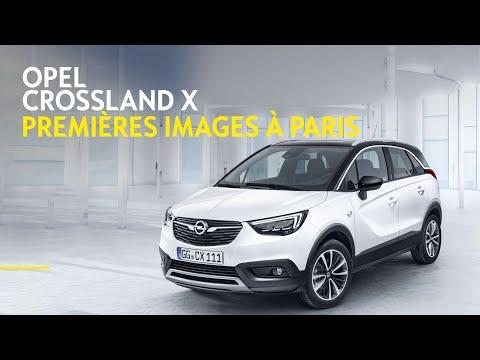 Opel Crossland X - Premières images
