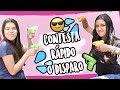 RESPONDE RÁPIDO O TE MOJO CHALLENGE XIME PONCH ft. NATALY POP
