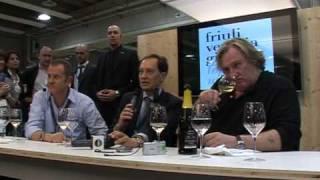 Gerard Depardieu al VinItaly 2010