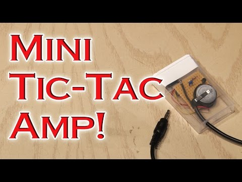 TAC - Build a tiny, portable amp that will give a boost to your tunes! GET A FREE DIY MINI-COURSE http://kipkay.com/DIY BUILD DIY PROJECTS EVERY MONTH http://kipka...