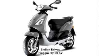 1. Piaggio Fly 50 4V : First Look