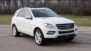 2013 Mercedes-Benz ML350 - WINDING ROAD POV Test Drive