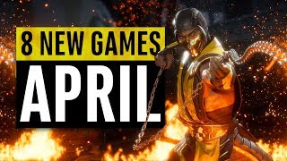 8 New Games Arriving in April 2019 (including a FREE game)