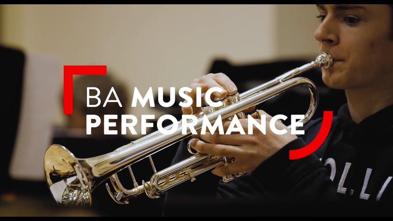 BA Music Performance