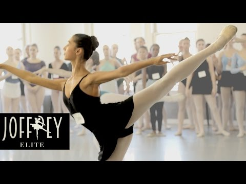 Ballet Auditions Day 1 | JOFFREY ELITE Ep 1 (видео)