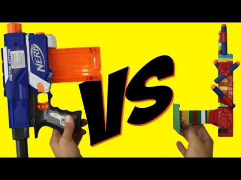 NERF Gun vs LEGO Gun