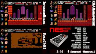 Video NES Classic Race.  InfestedRiche vs Toad22484 vs KHANanaphone MP3, 3GP, MP4, WEBM, AVI, FLV Juni 2019