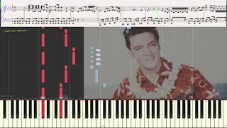 Пресли жив (Ноты и Видеоурок для фортепиано) (piano cover)