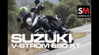9. Suzuki V-Strom 650 XT 2017: Prueba Moto Trail [FULLHD]