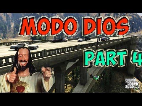 GTA V online Glitch Modo Dios, Meterse en edifcio prohibido part 4 (видео)