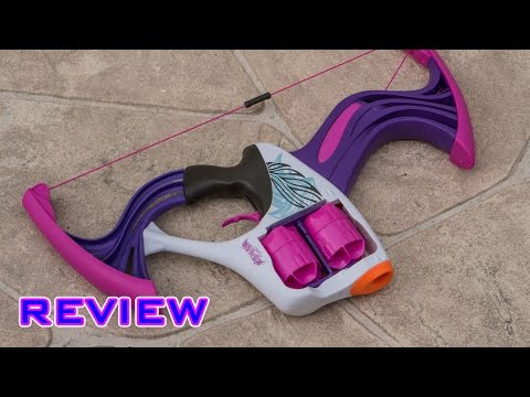 [REVIEW] Nerf Rebelle Flipside Bow Review & Firing Test