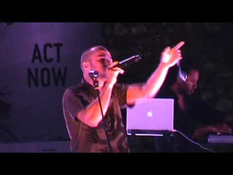 Mattafix - Things Have Changed (live in Athens - World Environment Day - 05/06/2008)