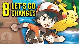 8 Pokemon Let's Go Changes You Should Know! | The Leaderboard
