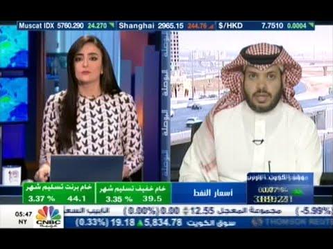 لقاء المحلل بن فريحان في قناة CNBC بعد افتتاح جلسة الثلاثاء 25-8-2015