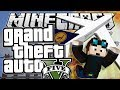Minecraft | Grand Theft Auto (GTA) | PLANE STUNTS! | Mods Showcase [Funny Moments]