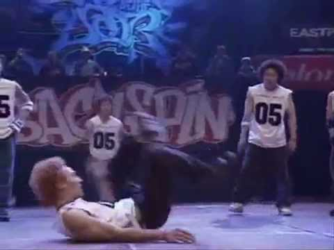 expression - Check Out the news on http://twitter.com/#!/BboyShao Expression Crew from Korea at Boty 2003 Playlist: -Madonna - Die Another Day -Tatsuya Oe - Cold Sweat (C...