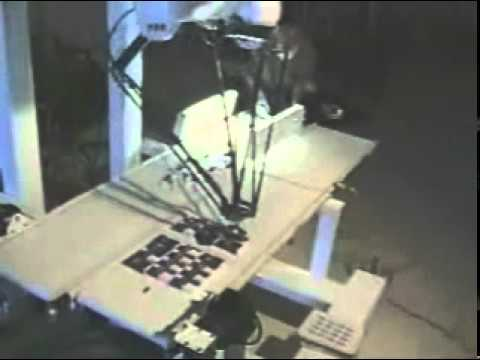 Robotic Pick and Place Packing Machine