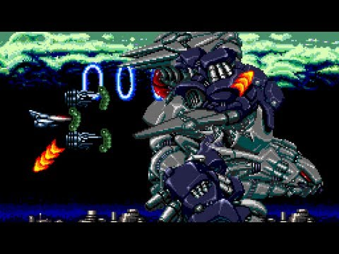 Aldynes - Round 2 - Longplay - PC Engine - TurboGrafx-16 - SuperGrafx - Shmups - STG