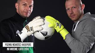 Goalkeeper Gloves 4keepers Champ Retro RF