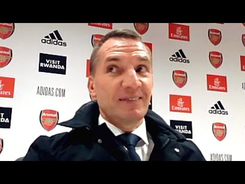 Arsenal 0-1 Leicester - Brendan Rodgers - Post Match Press Conference
