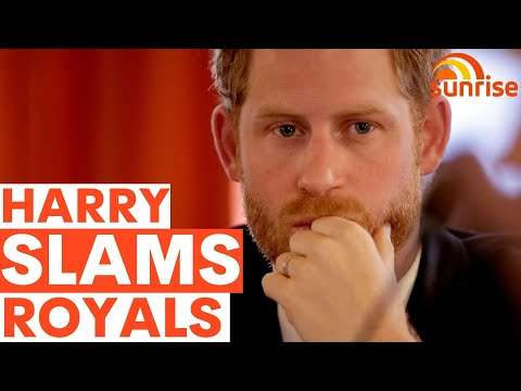 Prince Harry SLAMS Royal Family - including the QUEEN - in NEW podcast | Sunrise