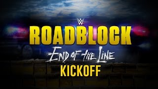 Nonton Wwe Roadblock  End Of The Line Kickoff  Dec  18  2016 Film Subtitle Indonesia Streaming Movie Download