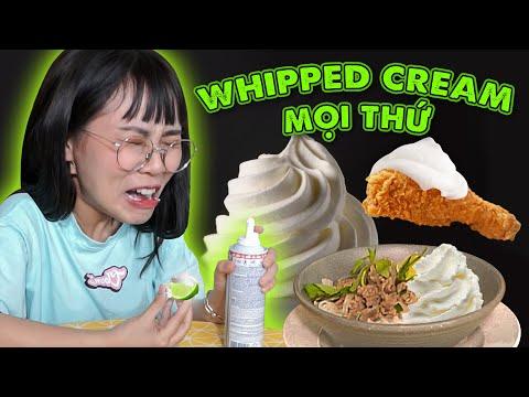Misthy ăn tất cả mọi thứ với Cream. Cảm xúc hỗn loạn || FOOD CHALLENGE