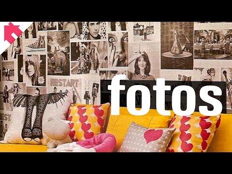 Decorar com fotos