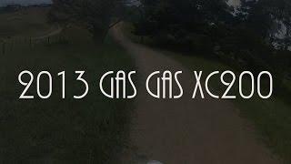 9. 2013 Gas Gas XC200 - RAW!