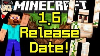 Minecraft News 1.6 RELEASE DATE&Secrets!