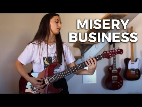 "Paramore  ""Misery Business"" Cover by Rockloe"