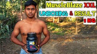 MuscleBlaze Mass Gainer XXL | Hindi | full review video | result