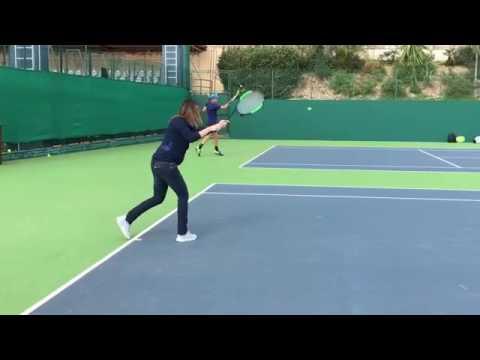 Flavia Pennetta incinta ma torna in campo… con Djokovic!