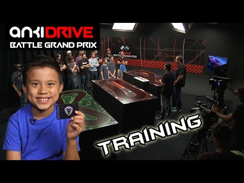Drive - Get your license (US, CA, and UK only): http://go.anki.com/license Check out Anki DRIVE: http://go.anki.com/EvanTubeHD It's Training Day for the Anki Drive Battle Grand Prix. All 9 YouTuber...